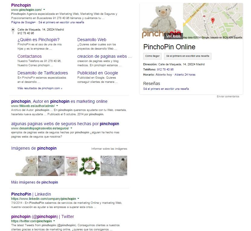 google-pinchopin